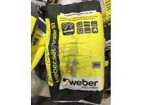 Weber Flexible rapid setting tile adhesive
