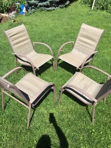 Patio chairs set. 4 pcs. 15$ each
