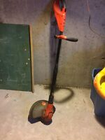 Cordless Black & Decker whipper snipper