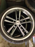 19 Inch TSW wheels