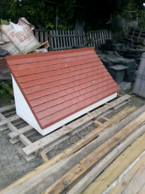 GRP Fibreglass Porch Canopy