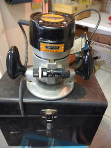 Sears Router double insulated develops 1 H.p.2500 R P M