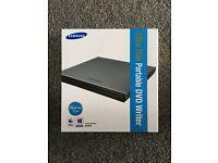 Ultra thin portable DVD writer
