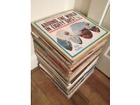 Job Lot 100+ Vinyl LP Records Mixed House Clearance