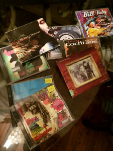 CD lot of 8 CDs must take the lot no individual sales