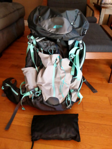Aurora women's 60L backpack from MEC.