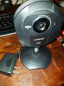 Linksys Wireless-G internet monitoring camera Windsor Region Ontario image 1