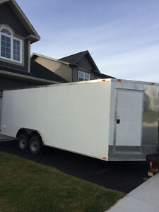 2015 8.5 x 24 Trailer!!! Will accommodate side by side!!