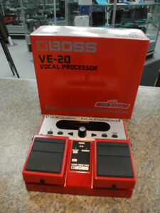 Boss VE-20 Vocal Performer Effects Pedal