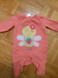 pyjamas nouveau-né
