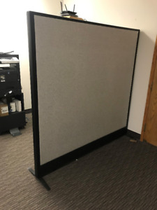**OFFICE FURNITURE FOR SALE** **ROOM DIVIDERS (3)**