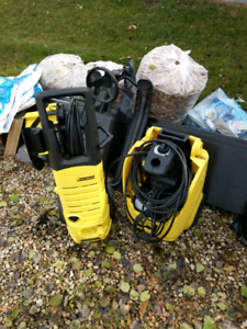 Karcher pressure washers for parts.