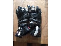 HEIN GERICKE RACING LEATHER GLOVES SIZE SMALL