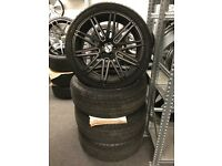 22 alloy wheels alloys rims tyre tyres Audi sq5 Q7 Mercedes 5x112 pcd