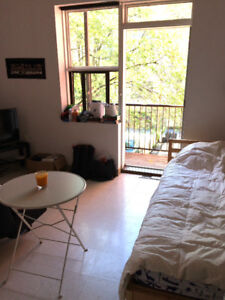 Spacious studio apartment for $708 starting October 1st