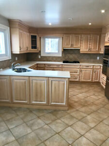 KITCHEN in WOOD and APPLIANCES for sale