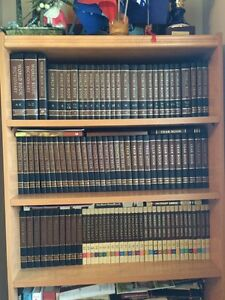 Wall unit and Books