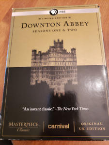 Downton Abbey Seasons One & Two Limited Edition DVD Boxed Set