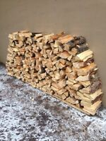 EXCELLENT QUALITY PINE/SPRUCE FIREWOOD DELIVERED & STACKED