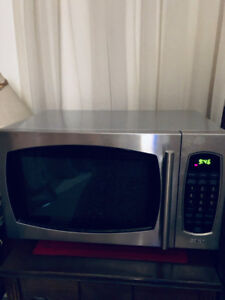 Microwave, stainless steel
