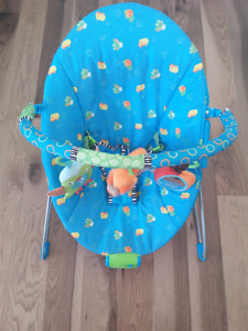 Baby boucy chair, bouncing seat