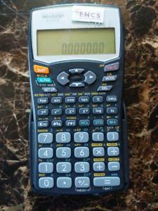 SHARP EL-531W scientific calculator