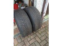 2 Hankook Tyres 255/50/19