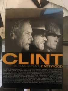 Clint Eastwood 35 DVD Set