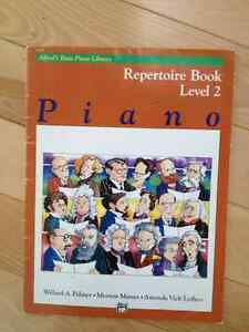 FREE PIANO BOOK : Alfred's basic piano library - level 2