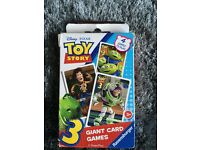 Toy story and toy story 3 game cards