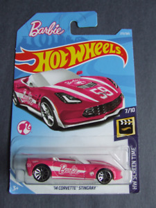 WANTED - 2018 BARBIE 1/64 DIECAST HOT WHEELS