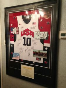 Autographed 2012 Team USA Kobe Bryant Jersey