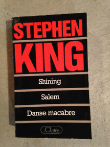 Shinig, Salem, Danse macabre, Stephen king, roman, frisson, peur