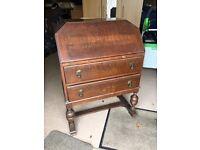 Vintage, Solid Wood Writing Desk