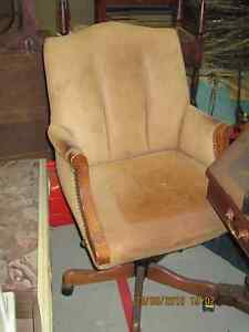 Leather Office Desk Chair