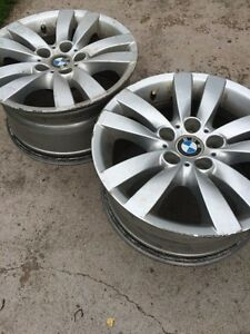"Set of 4 bmw rims 17"" - 4 sale or trade"