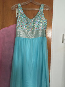 PROM DRESS Light Blue