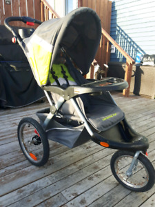 Baby Trend Jogging Stroller w/infant car seat and snap n go base
