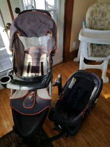 Stroller/carseat combo