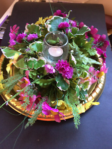 homemade table centers