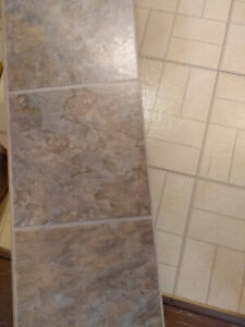 Tile impression high quality laminate 68 sq ft