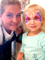 Professional facepainting for any size event!
