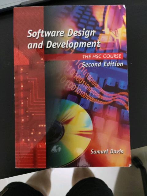 Software Design And Development Hsc Course Second Edition Textbooks Gumtree Australia Blacktown Area Stanhope Gardens 1232790457