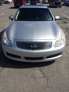 2007 Infiniti G35x loaded all wheel drive sedan
