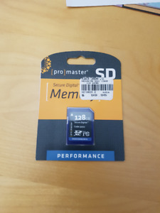 Brand New 128GB sd Card