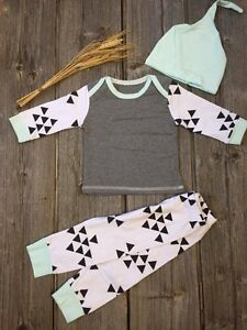 Brand New - 3pc Baby Outfit