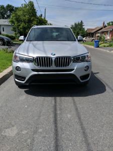 BMW X3 28i xDrive 2016 X-line fully loaded/panoramic sunroof