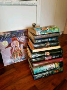 Lot of Terry Pratchett books