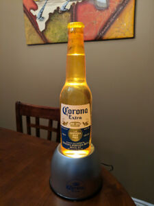 Corona bottle light bar signs