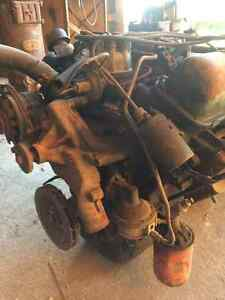 352 Ford engine and 3 speed trans with carb London Ontario image 5
